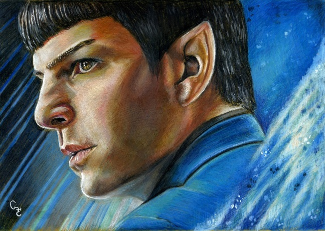 Zachary Quinto Commander Spock